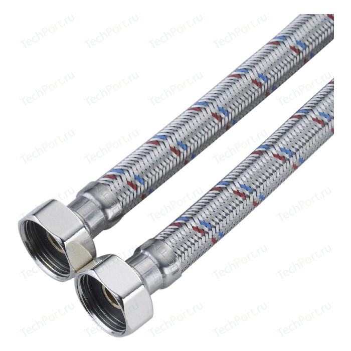 Подводка для воды СТМ ГИГАНТ в стальной оплетке, 3/4 гайка/гайка, 150 cм (CWGHF150)