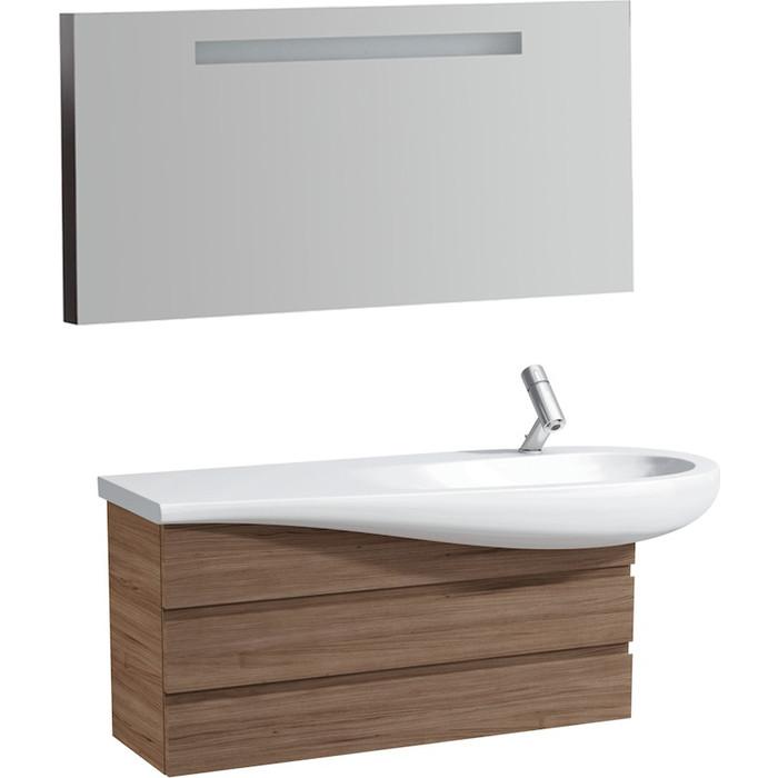 Мебель для ванной Laufen Alessi 120 орех, правая