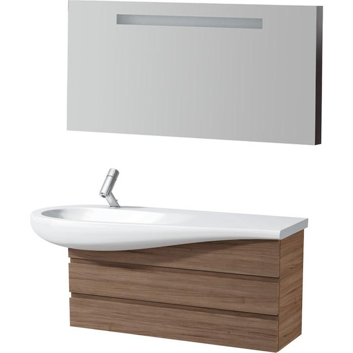 Мебель для ванной Laufen Alessi 120 орех, левая