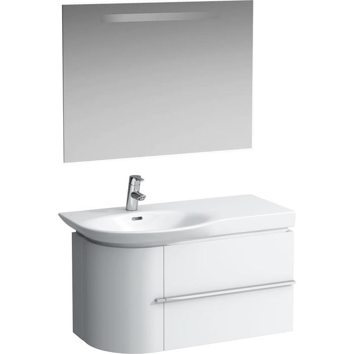 Мебель для ванной Laufen Palace New 90 белая, левая