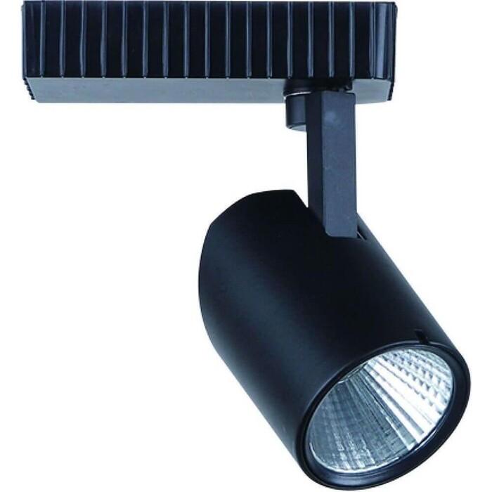 Трековый светодиодный светильник Arte Lamp A3607PL-1BK трековый светильник arte lamp track lights a3607pl 1bk