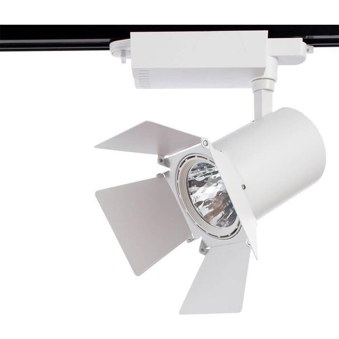 Трековый светодиодный светильник Arte Lamp A6730PL-1WH