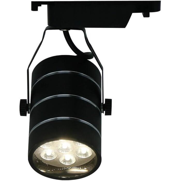 Трековый светодиодный светильник Arte Lamp A2707PL-1BK