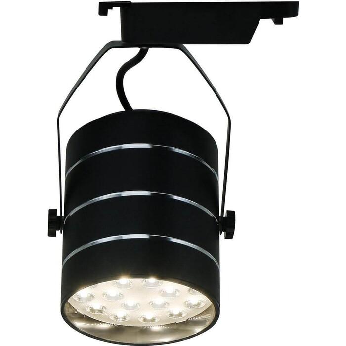 Фото - Трековый светодиодный светильник Arte Lamp A2718PL-1BK трековый светодиодный светильник arte lamp a2718pl 1wh