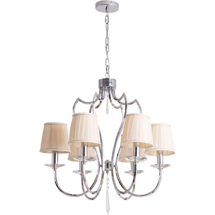 Подвесная люстра Arte Lamp A6352LM-6CC люстра arte lamp a2701pl 6cc