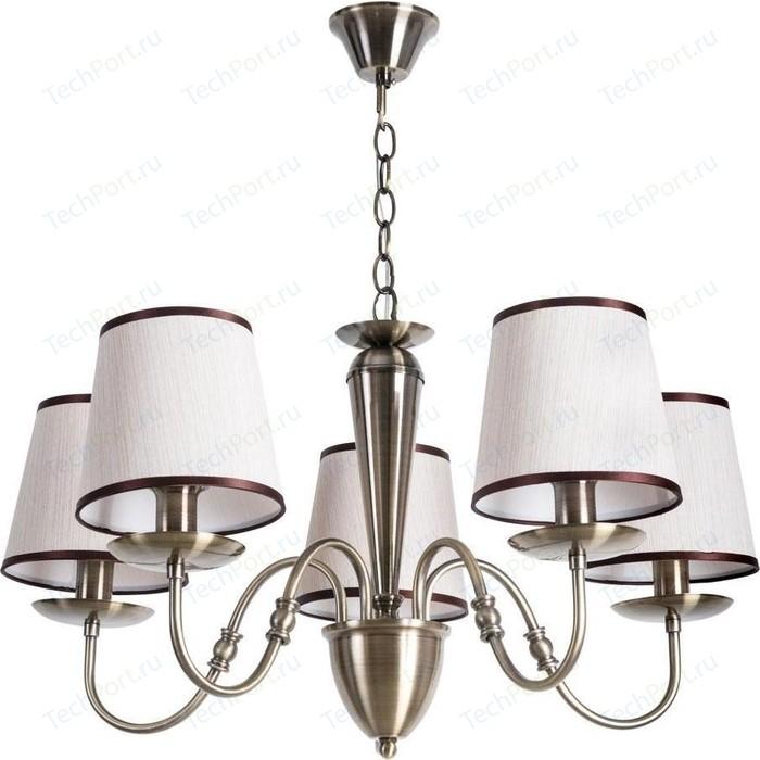 Подвесная люстра Arte Lamp A3227LM-5AB подвесная люстра arte lamp a2273lm 5ab