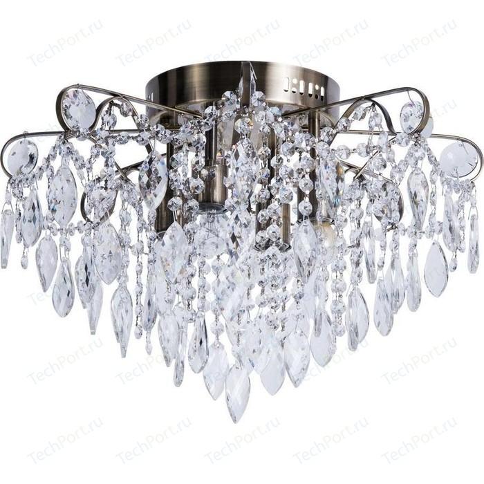 Фото - Потолочная люстра Arte Lamp A1660PL-4AB светильник потолочный arte lamp a5219pl 4ab