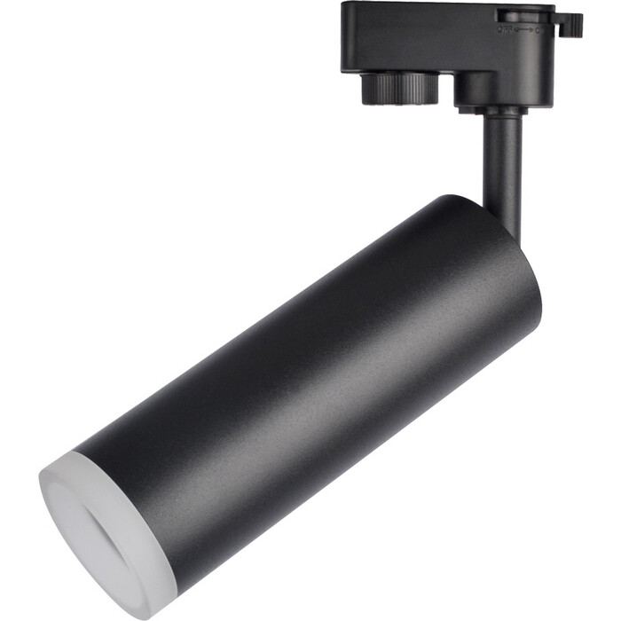 Трековый светодиодный светильник Arte Lamp A6811PL-1BK