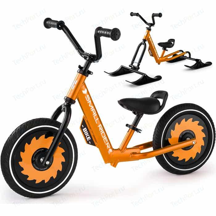 Беговел с лыжами и колесами Small Rider Roadster - X Combo (бронза)