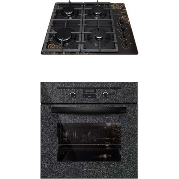 Встраиваемый комплект GEFEST СВН 2230 К19 + ДА 622-02 К43