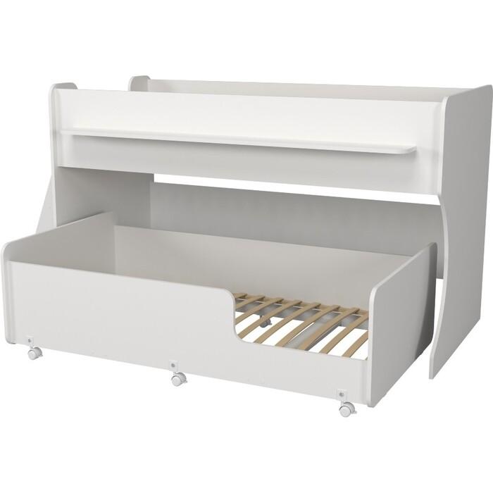 Двухъярусная кровать Капризун Р444 7 белый