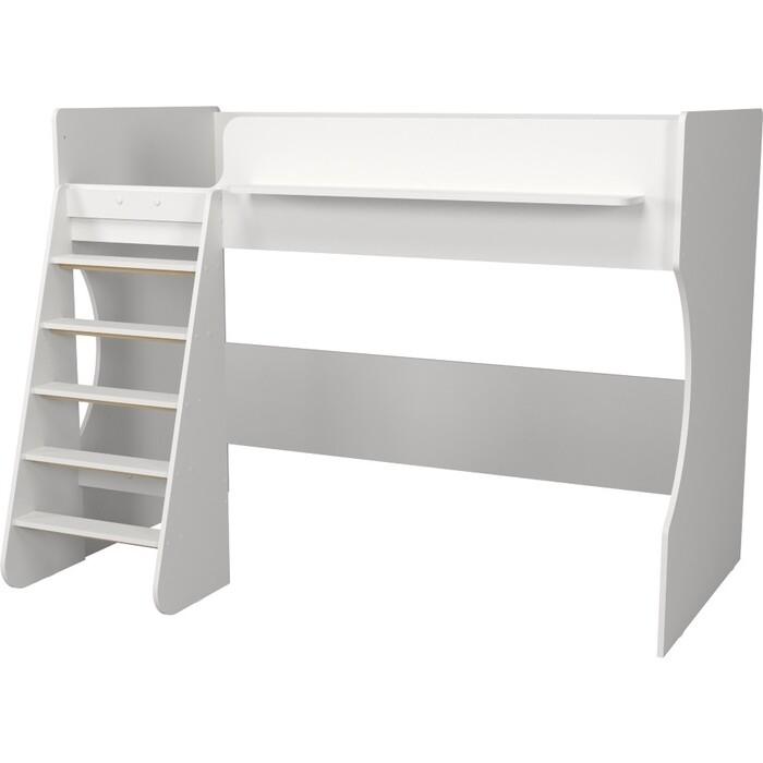 Кровать-чердак Капризун Р432 1 белый кровати для подростков капризун 2 чердак р436