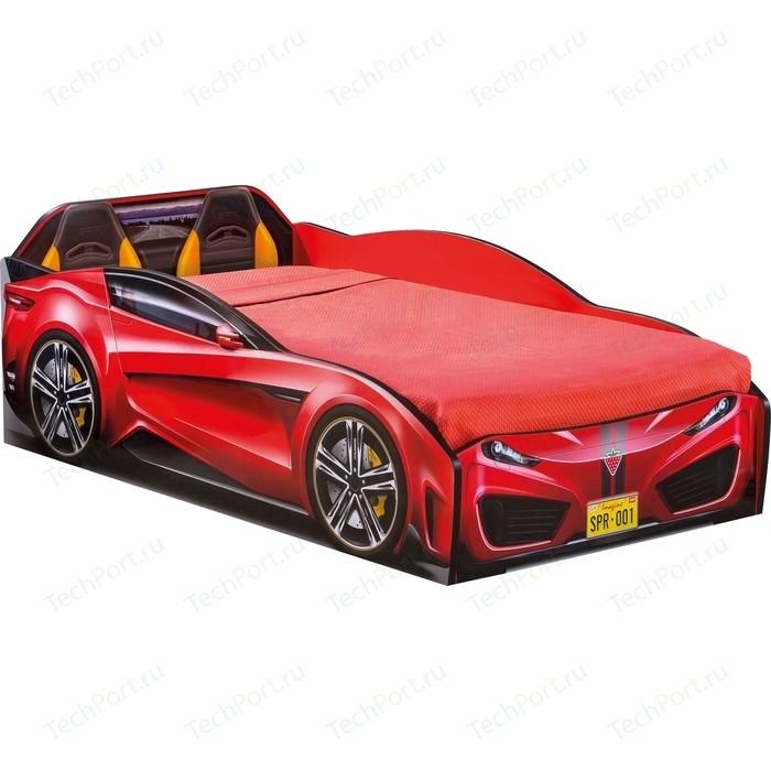 Кровать-машина Cilek Spyder car red 20.35.1304.00