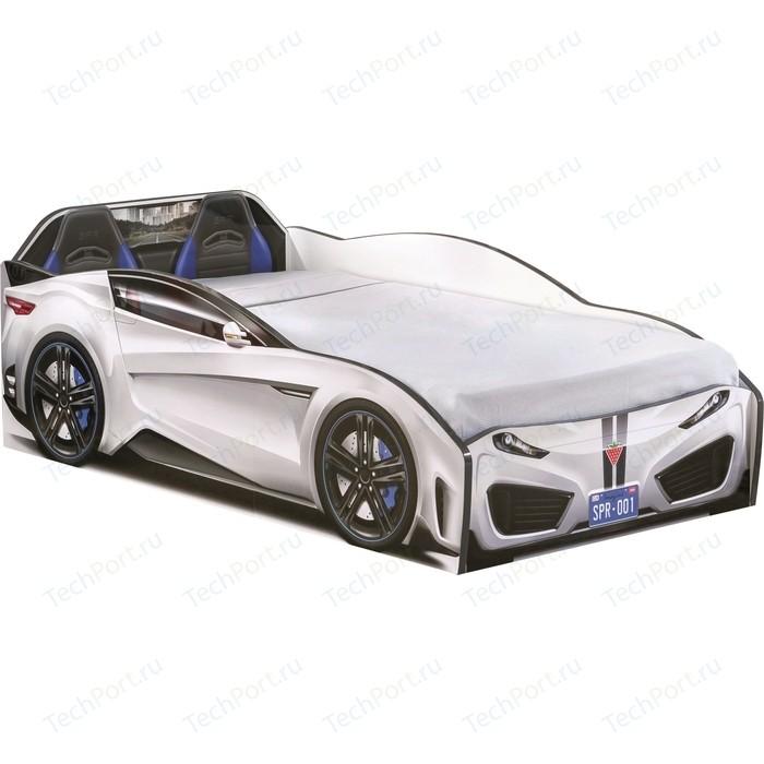 Кровать-машина Cilek Spyder car white 20.35.1305.00