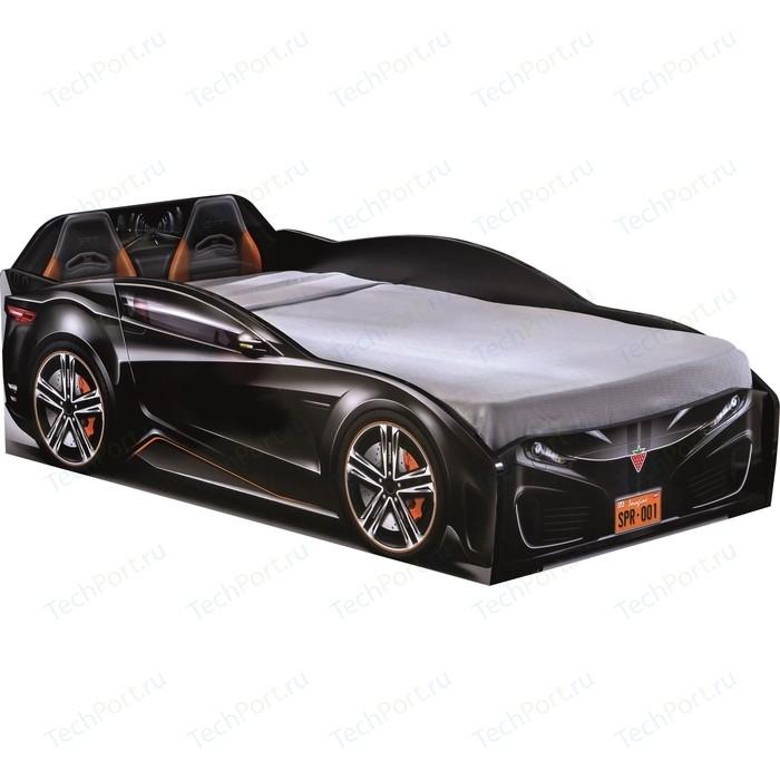Кровать-машина Cilek Spyder car black 20.35.1306.00