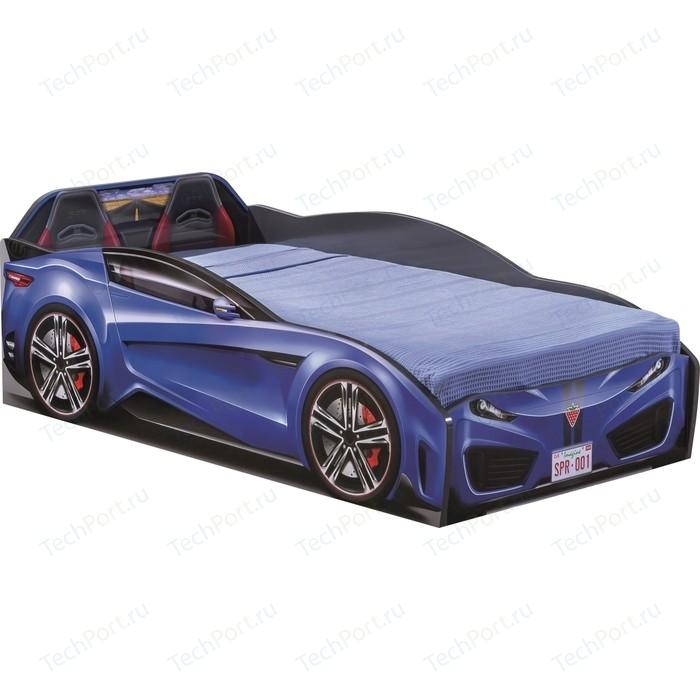 Кровать-машина Cilek Spyder car dark blue 20.35.1307.00