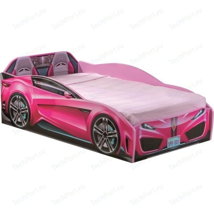 Кровать-машина Cilek Spyder car pink 20.35.1308.00