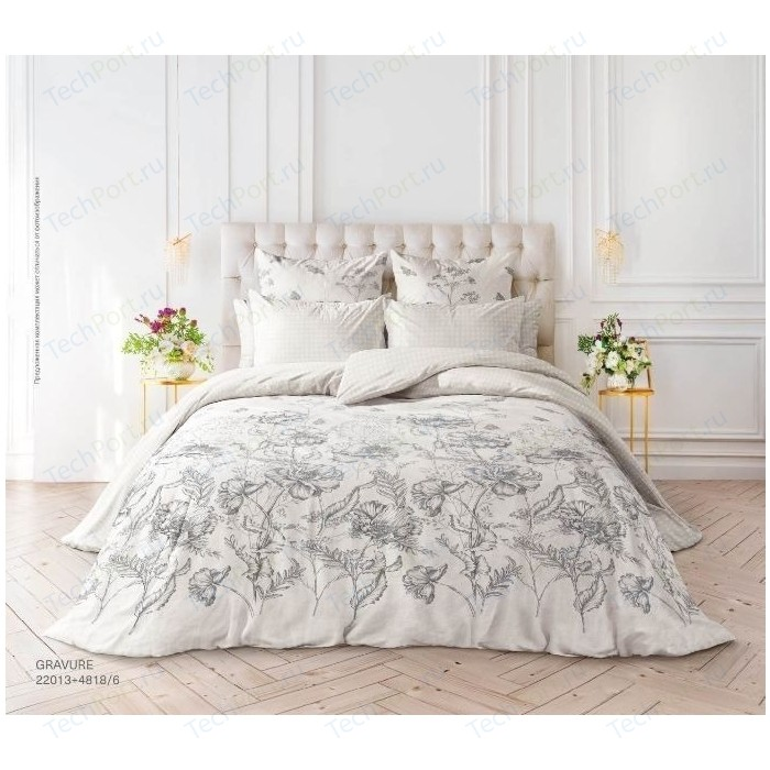 Комплект постельного белья Verossa Перкаль 1,5СП Gravure (738739)