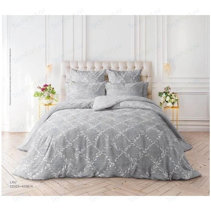 цена Комплект постельного белья Verossa Перкаль Семейный Lau (738793) онлайн в 2017 году