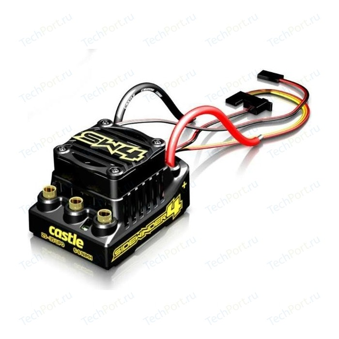 Регулятор оборотов бесколлекторны Castle Creations SIDEWINDER 4 SENSORLESS ESC - CSE-010-0164-00