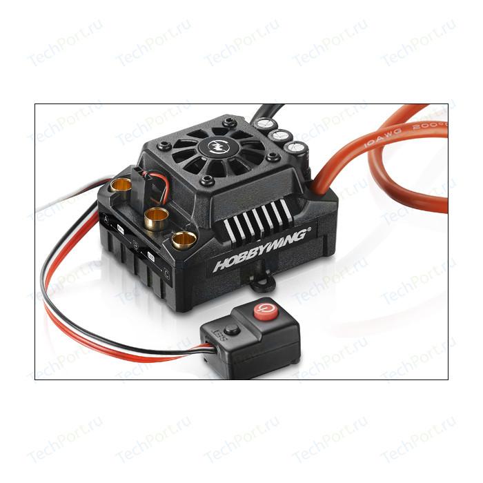 Бесколлекторный бессенсорный влагозащищенный регулятор HobbyWing EZRUN MAX8 V3 для шот-корс, багги, монстров - HW-EZRUN-MAX8-V3-TRX-PLUG