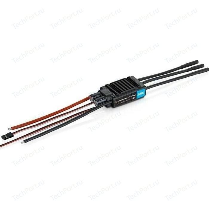 Регулятор бесколлекторный HobbyWing FLYFUN-120A-6S-V5 - HW-FLYFUN-120A