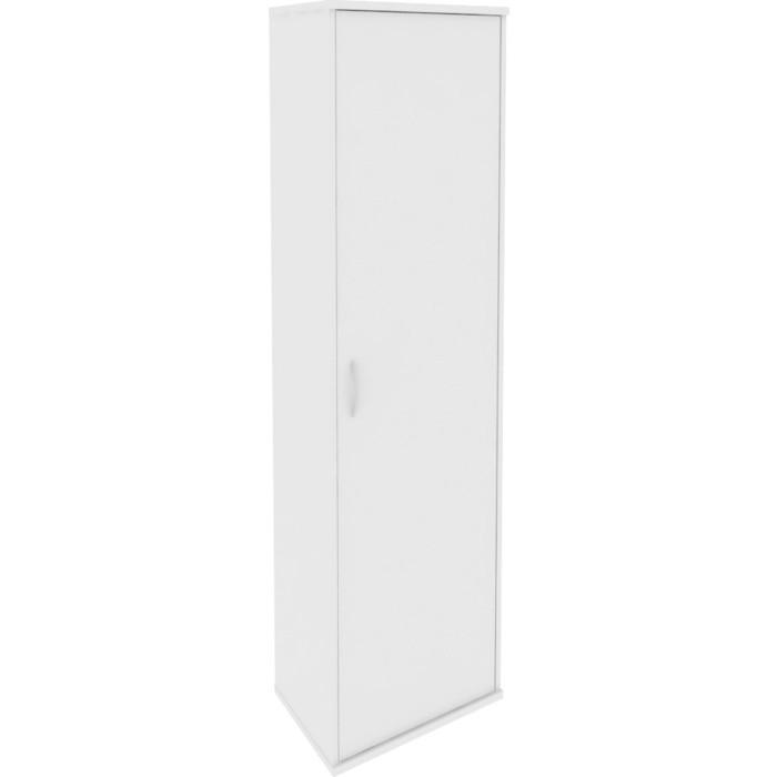 Гардероб Riva А.ГБ-1 белый 55x36,5x198
