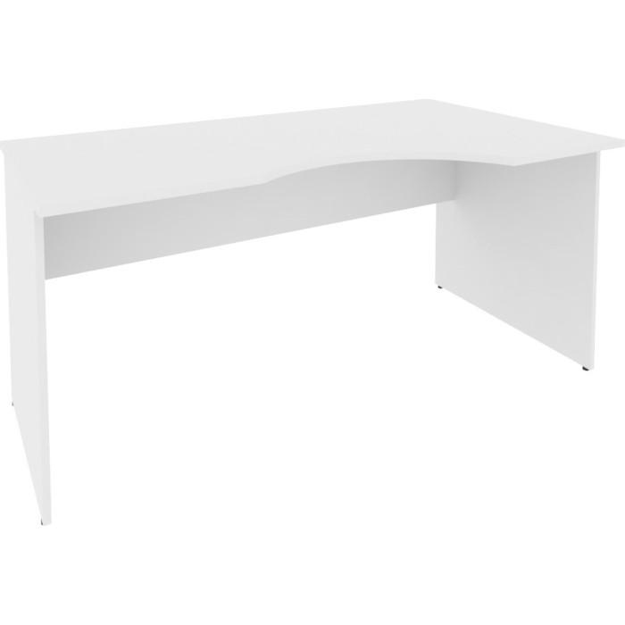 Стол криволинейный Riva А.СА-1 (R) белый 160x90x75 правый