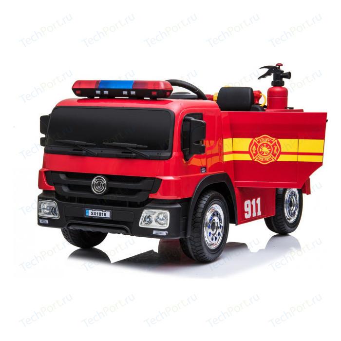 Детский электромобиль Hollicy пожарная машина с игровым набором - SX1818