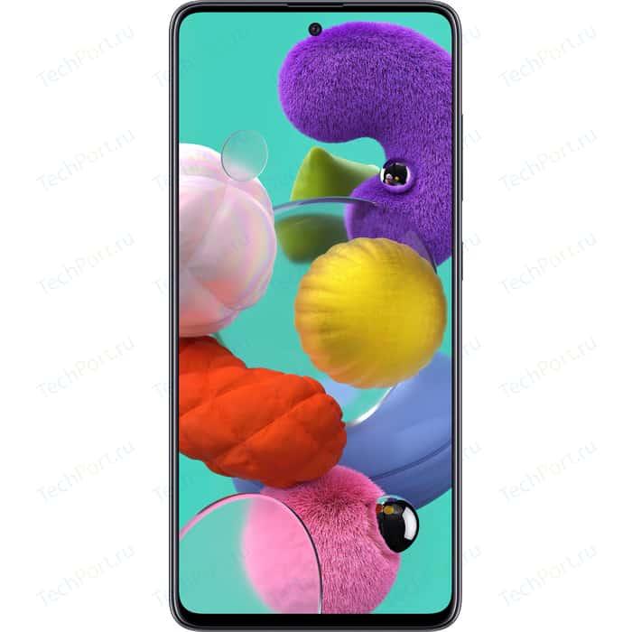 Смартфон Samsung Galaxy A51 6/128Gb Black смартфон samsung galaxy m31 128gb black