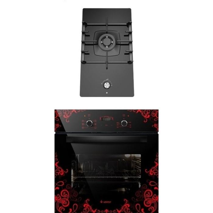 Фото - Встраиваемый комплект GEFEST ПВГ 2001 + ДА 622-02 К16 встраиваемый комплект gefest пвг 2001 да 622 02 к59