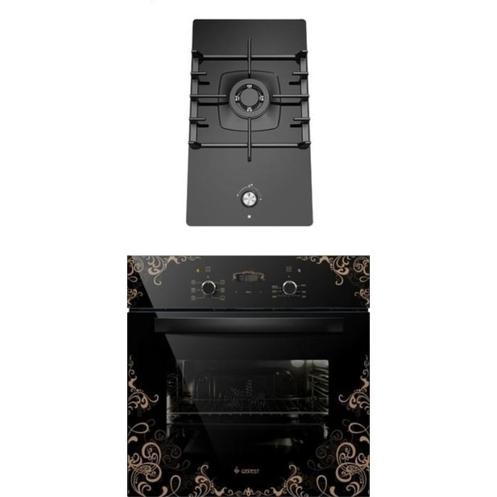 Фото - Встраиваемый комплект GEFEST ПВГ 2001 + ДА 622-02 К19 встраиваемый комплект gefest пвг 2001 да 622 02 к59