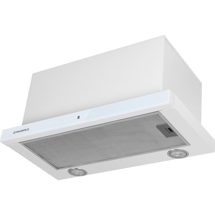 Встраиваемая вытяжка MAUNFELD TS Touch 50 Glass White