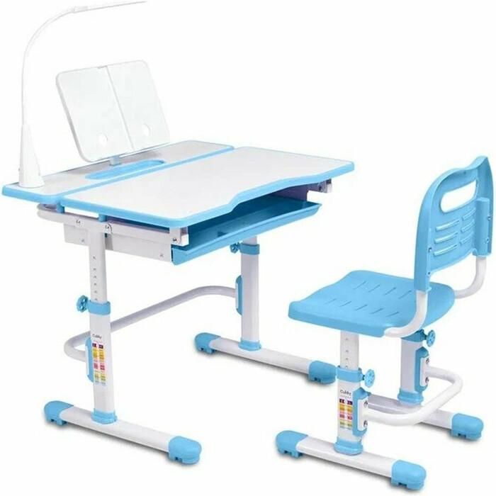 Комплект парта + стул трансформеры FunDesk Botero blue cubby