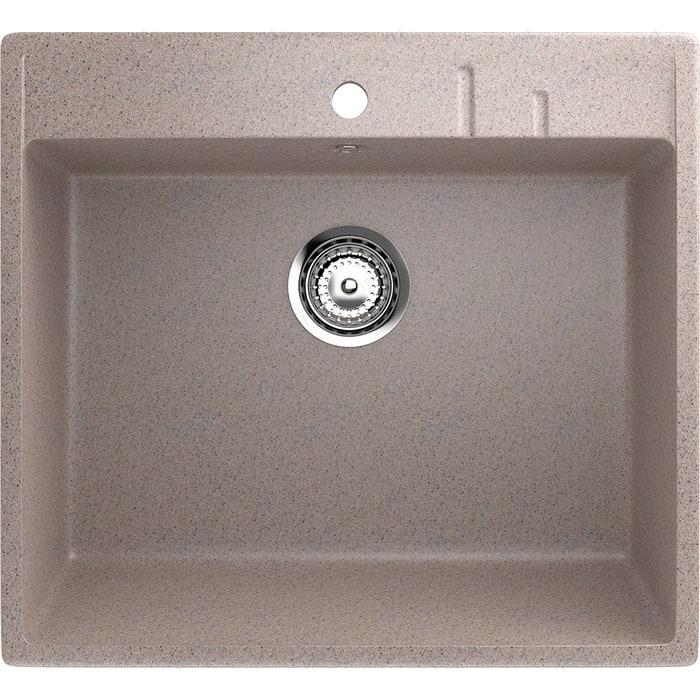 Кухонная мойка EcoStone песочный (ES-15-302)