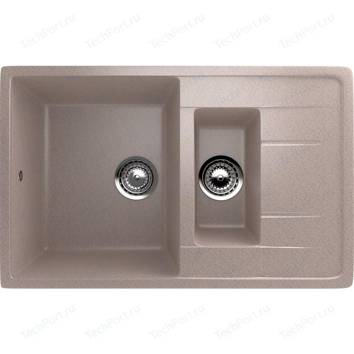 Кухонная мойка EcoStone песочный (ES-22-302)
