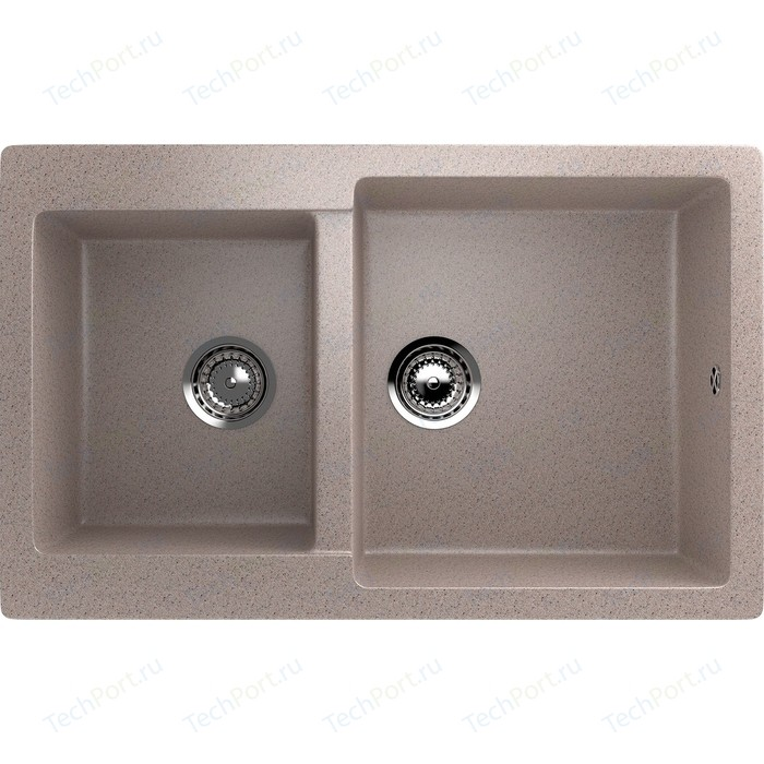 Кухонная мойка EcoStone песочный (ES-28-302)