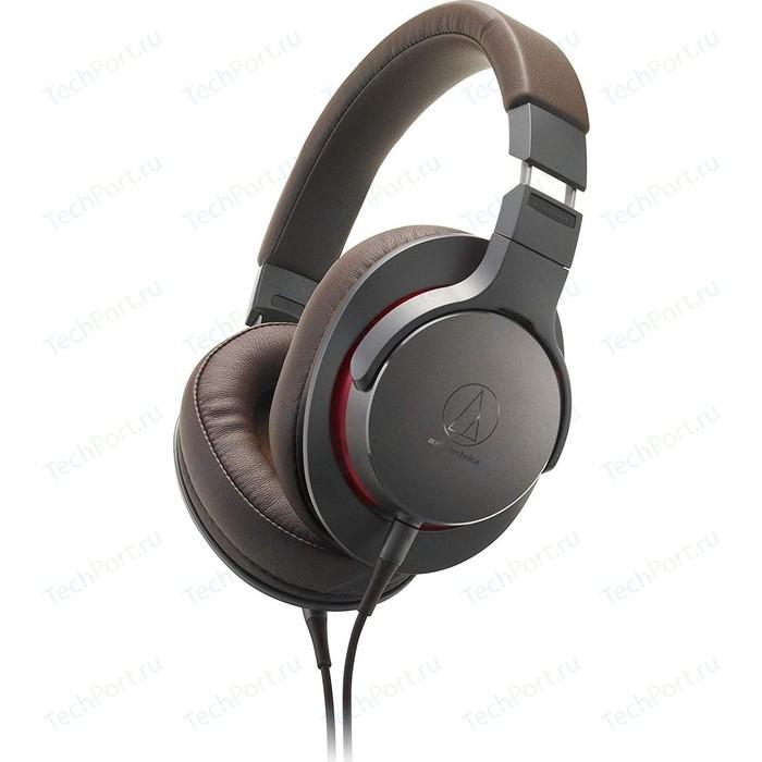 Наушники Audio-Technica ATH-MSR7B GM наушники audio technica ath ckl220 blue