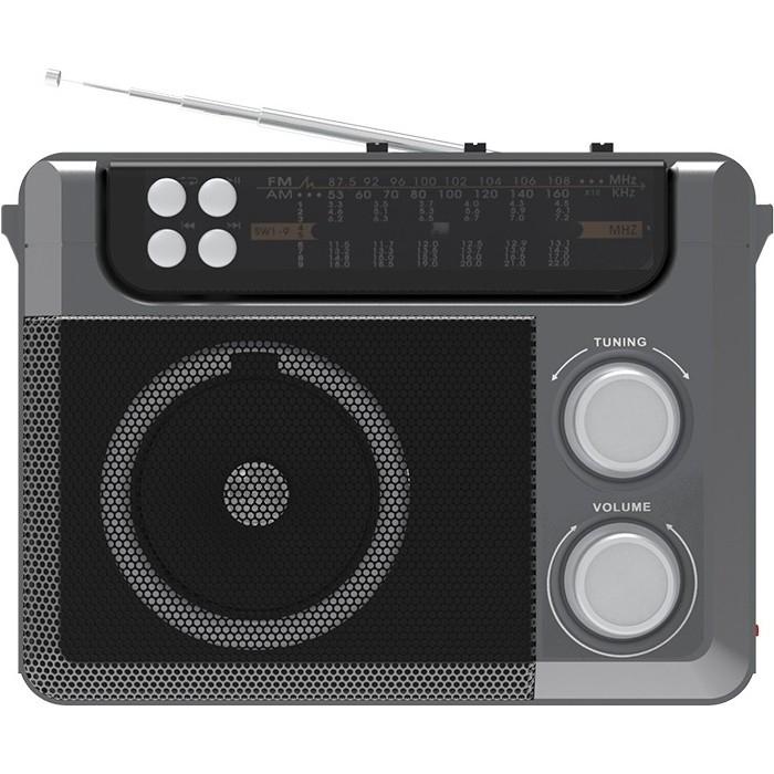Портативный радиоприемник Ritmix RPR-200 grey