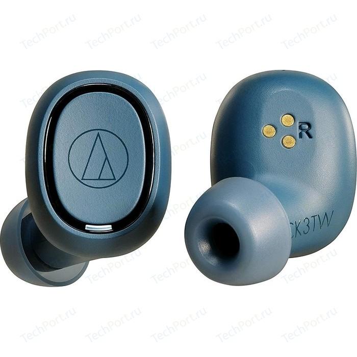Наушники Audio-Technica ATH-CK3TW blue наушники audio technica ath ckl220 blue