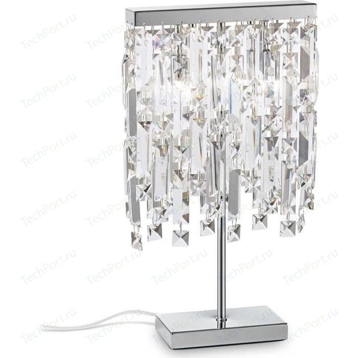Настольная лампа Ideal Lux Elisir TL2 Cromo люстра ideal lux florian cromo florian sp18 cromo