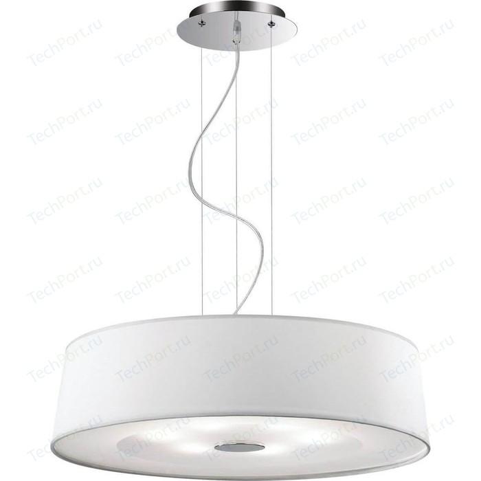 Подвесной светильник Ideal Lux Hilton SP6 Round Bianco