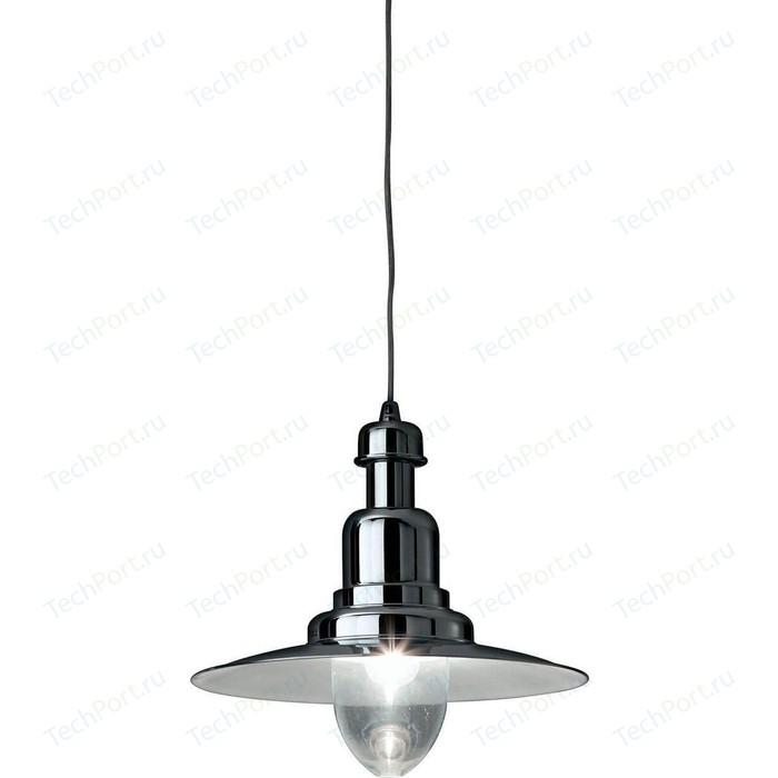 Подвесной светильник Ideal Lux Fiordi SP1 Big Cromo люстра ideal lux florian cromo florian sp18 cromo