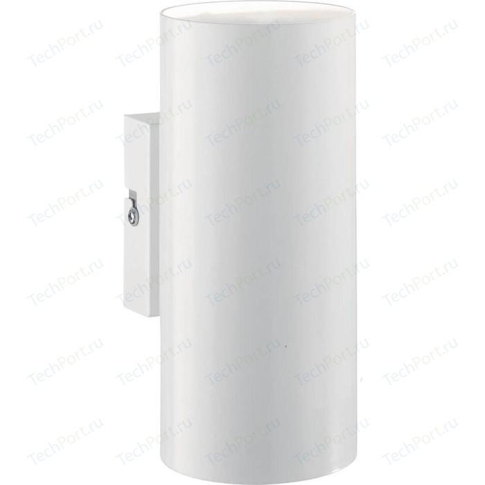 Настенный светильник Ideal Lux Hot AP2 Bianco бра ideal lux senix senix ap2
