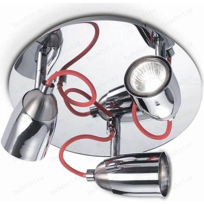 Спот Ideal Lux Pollicino PL3 светильник потолочный ideal lux harem harem pl3