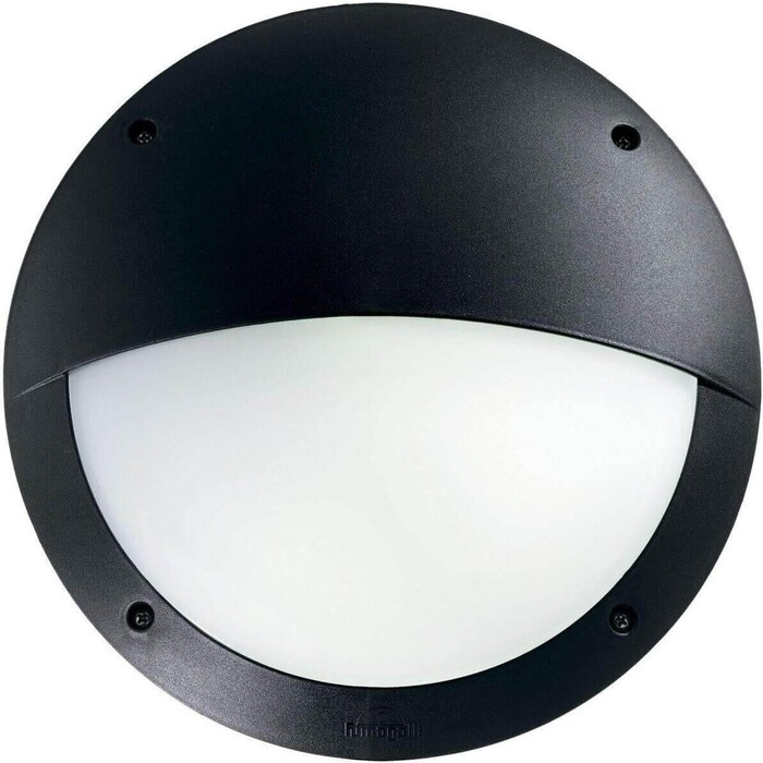 Уличный настенный светильник Ideal Lux Lucia-2 AP1 Nero
