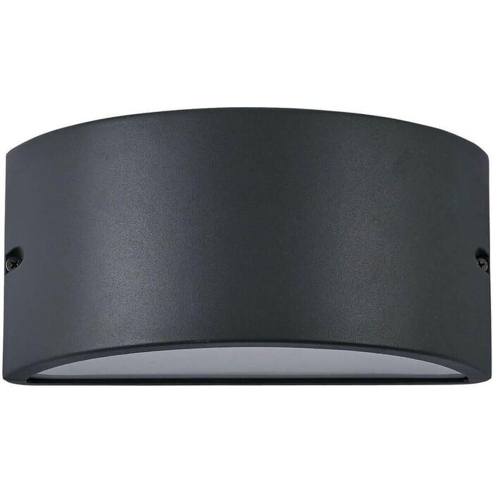 Уличный настенный светильник Ideal Lux Rex-2 AP1 Antracite уличный светильник ideal lux sound sound ap1 nero