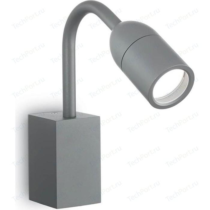 Уличный настенный светильник Ideal Lux Loop AP1 Antracite