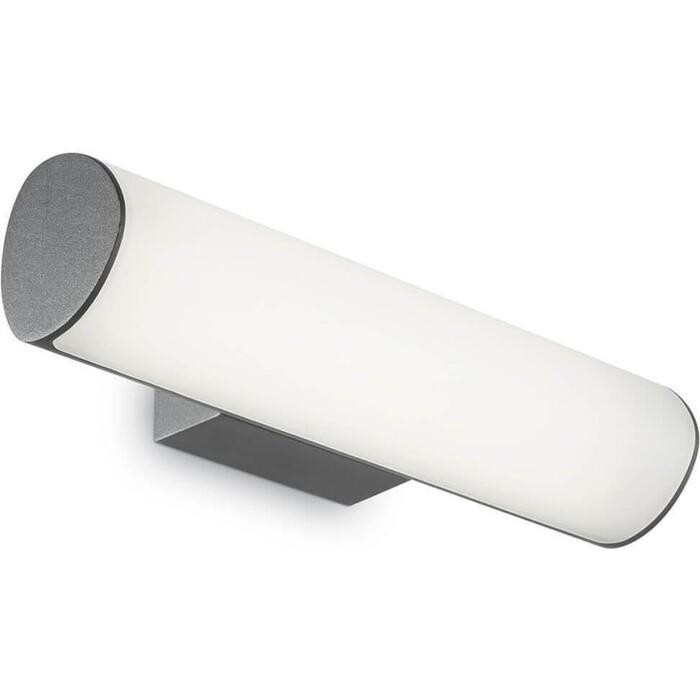 Уличный настенный светодиодный светильник Ideal Lux Etere AP1 Antracite уличный светильник ideal lux sound sound ap1 nero