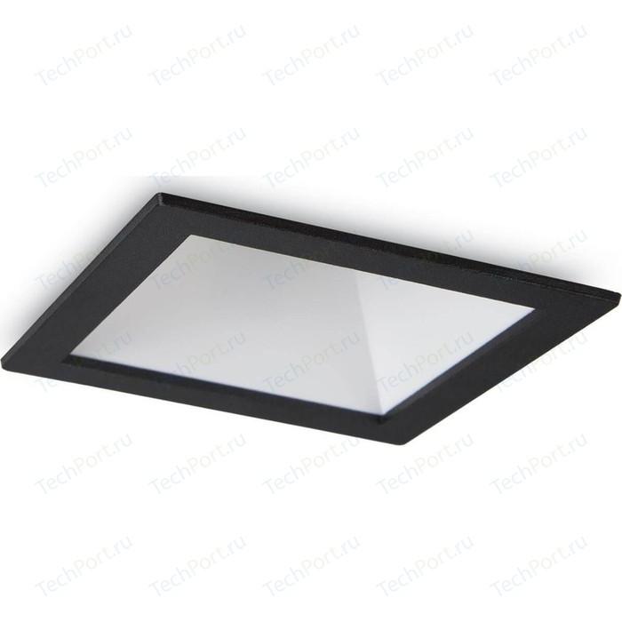Встраиваемый светодиодный светильник Ideal Lux Game Square Black White